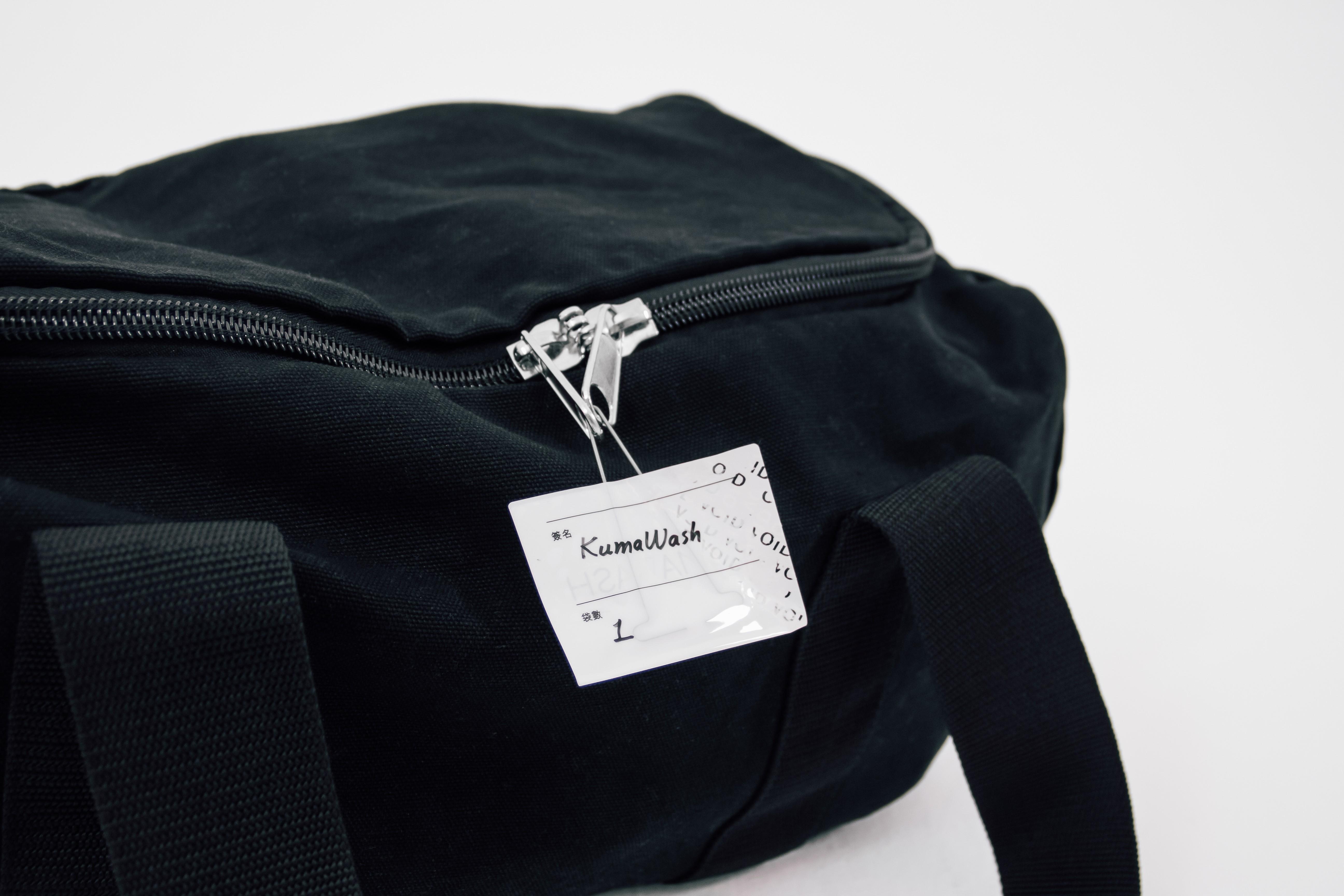 衣物離開客戶家時會貼上防拆貼紙,送至洗衣廠後則全程錄影(圖片來源:KumaWash)