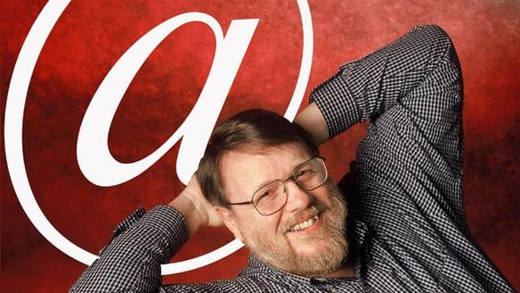 著名程式設計師:Ray Tomlinson。 圖片來源:whlwcl@Flickr, BY-NC-SA 2.0