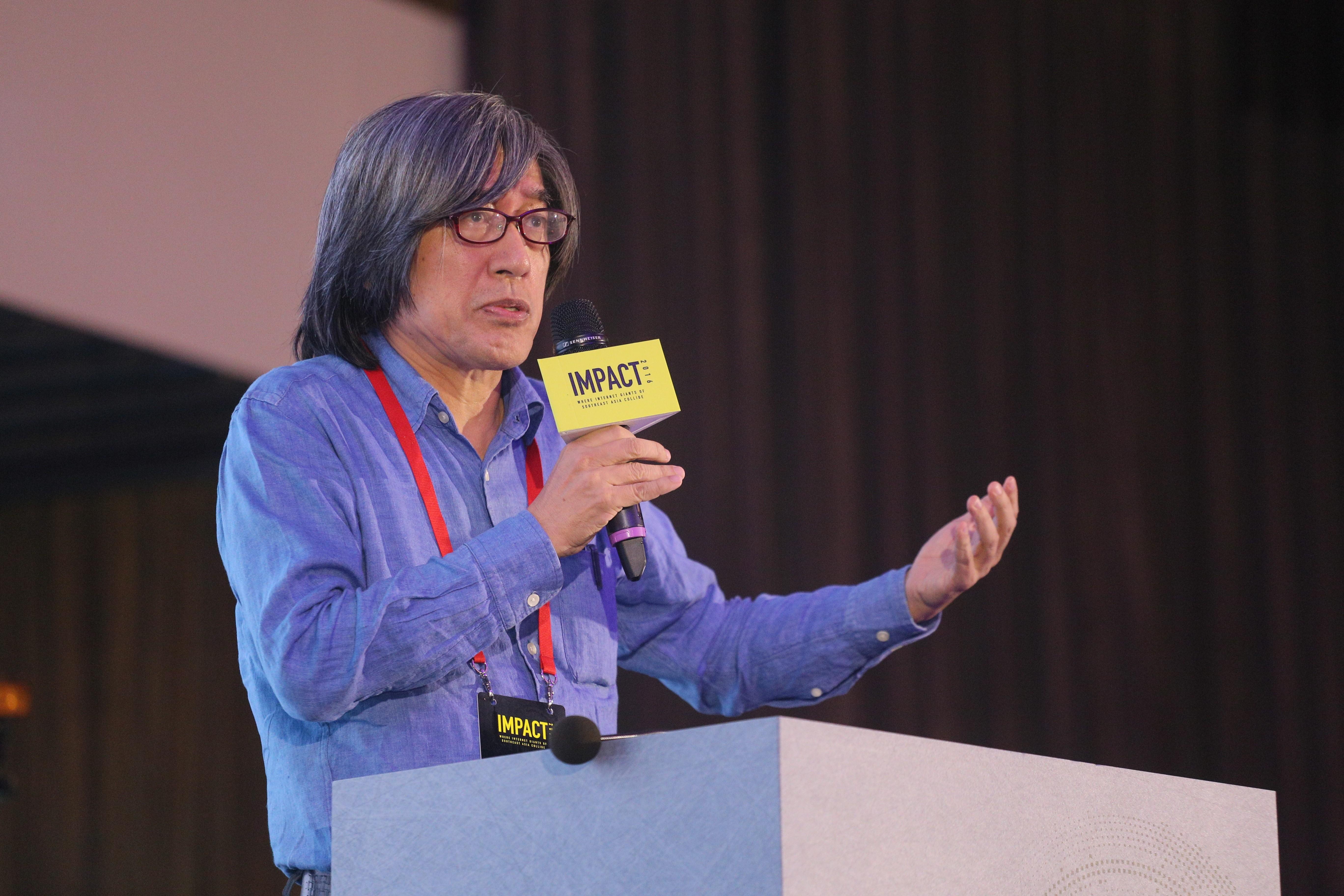 PChome Online 董事長詹宏志先生在演說中重新檢視 PChome Online 的發展歷程