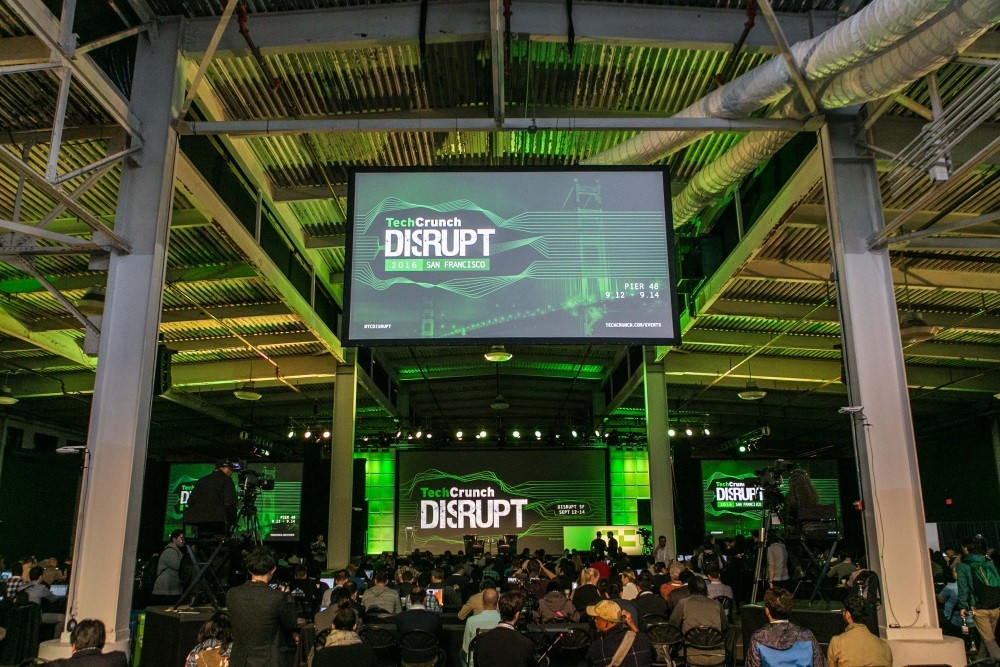 TechCrunch Disrupt 2016 全球科技盛會。圖片來源:TSS