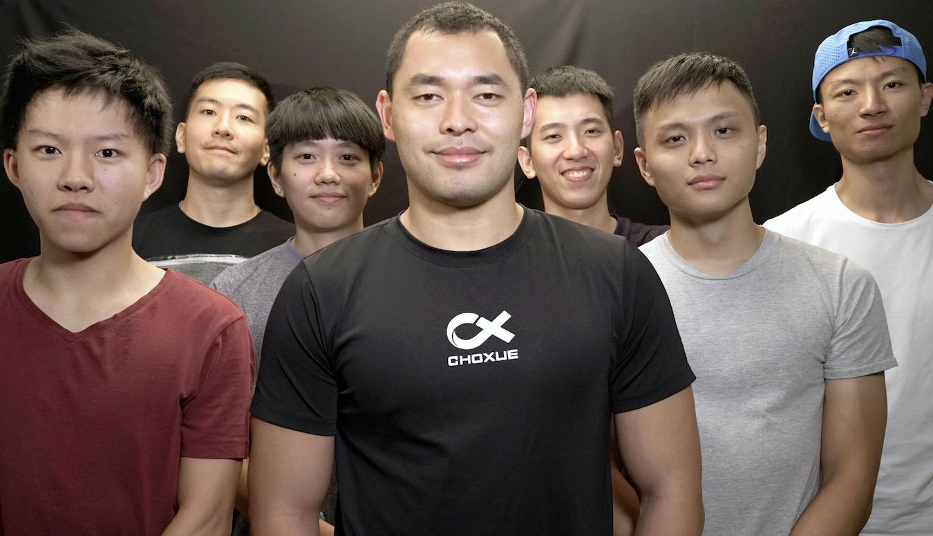 球學的團隊成員有很大的夢,想帶動亞洲的運動風潮。團隊成員目前有10人。圖/球學