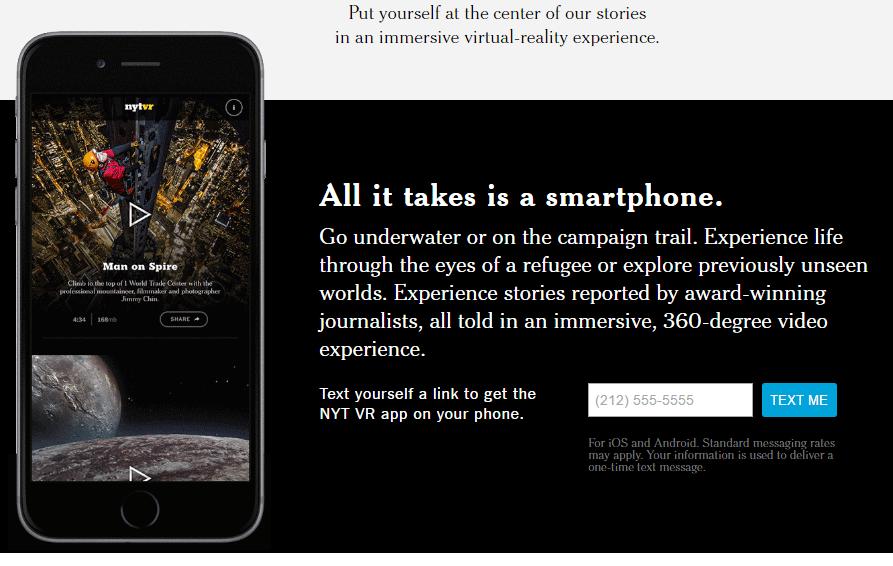 紐約時報也推出了虛擬實境即時播報 NYT VR