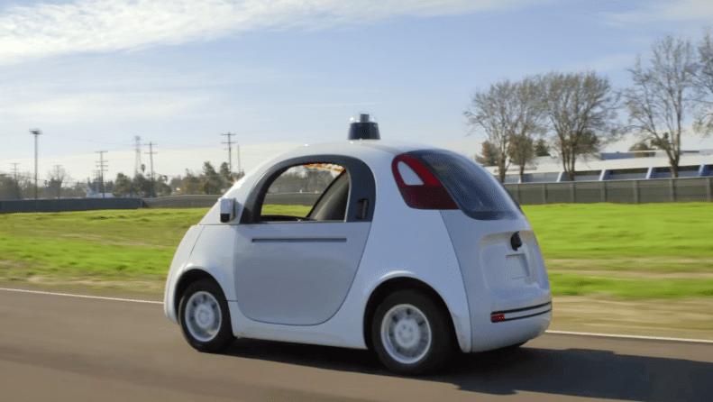 台灣適合發展自動駕駛汽車嗎?(圖片截自 Google 無人車影片)