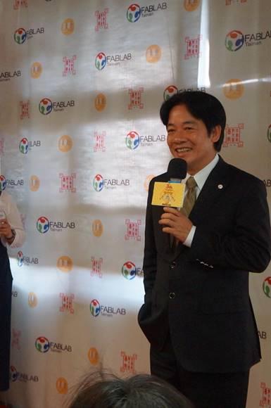 台南市市長賴清德特別分享他對以色列與台灣創新環境的觀察。圖片來源:PanX 攝影