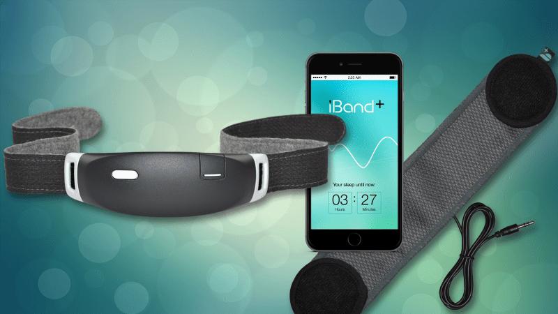 iband+ 產品包含腦波偵測器,喇叭與 App。圖片來源: iband+