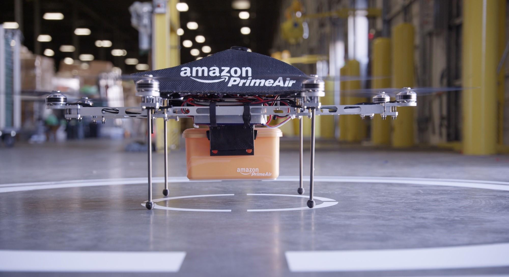 Prime Air 無人機。圖片來源:亞馬遜