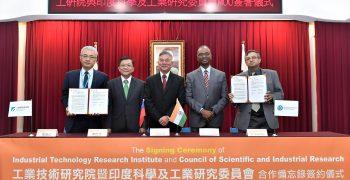 臺灣與印度科技研發機構攜手,技術交流與合作更上一級