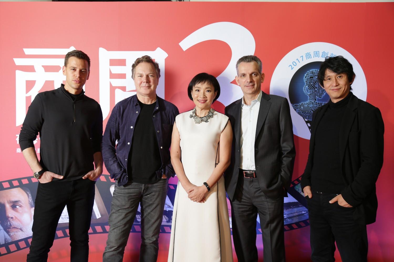 全球 AI 四大巨擘齊聚台北 —— 商周 30 週年創新之夜