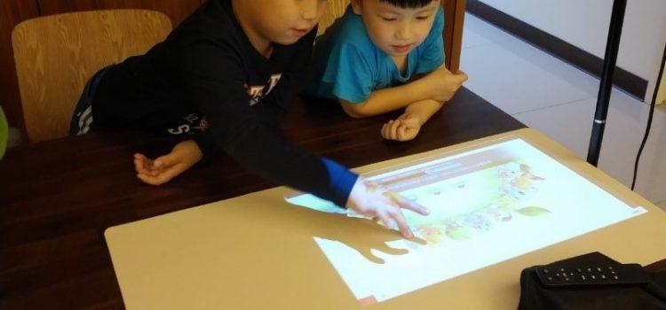照明還可以順便投影,讓書桌化身平板只需一顆燈泡──點點滴滴科技